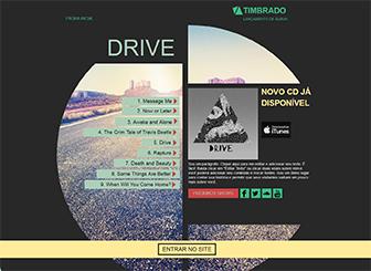 Landing Page de Banda Template - Promova a sua música com este template super legal e relaxado. Comece a personalizar agora!