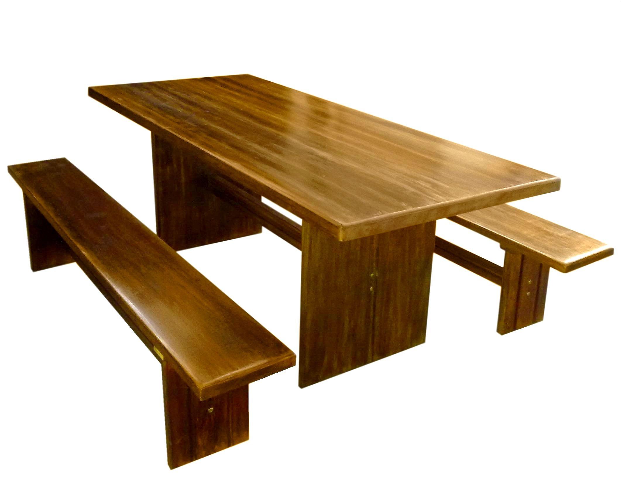 Amazon totem mesa r stica p s retos for Modelos de mesas rusticas de madera