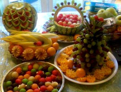 Mehndi Fruit Decoration : Fruitima fruit carving cupcakes fruits baskets wedding cakes