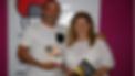 David Peralta y Ana Larraz en radio faro