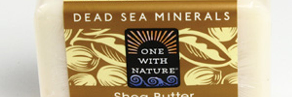 Shea Butter & Argan Oil Soap - 7 oz.
