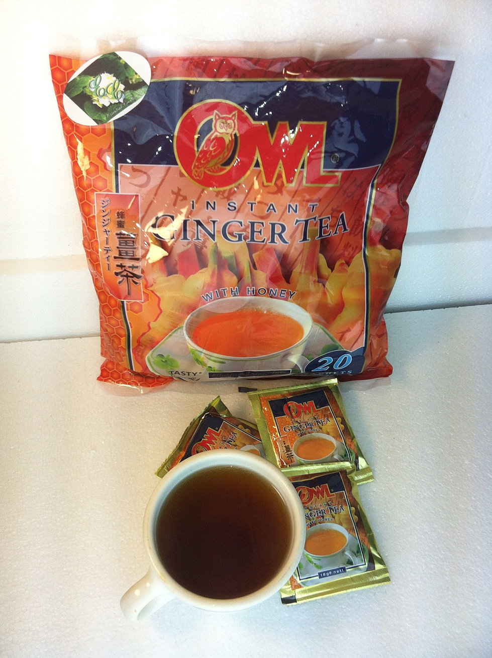 Owl Ginger Tea