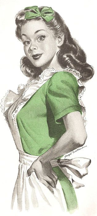 The 50s Housewife: Retro Eye Candy Vol 7