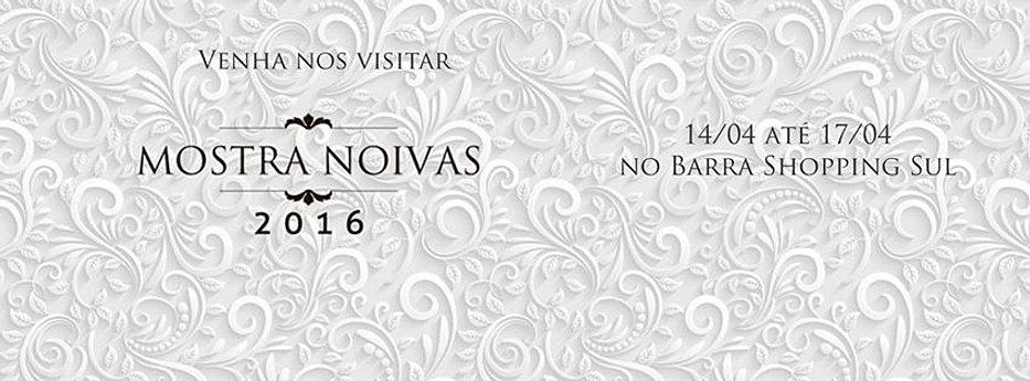 Venha nos visitar no Mostra Noivas