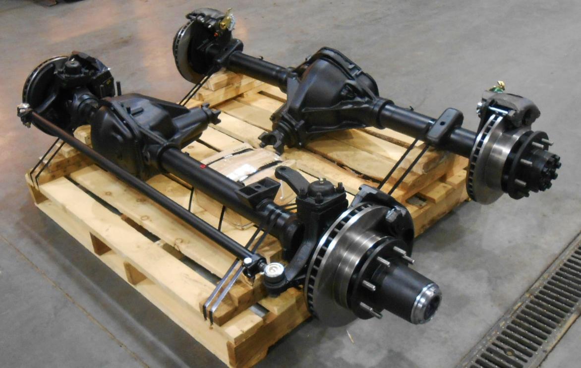 Rebuilt Dodge Dana 60 Front Axle Amp Gm 14 Bolt Rear Axle