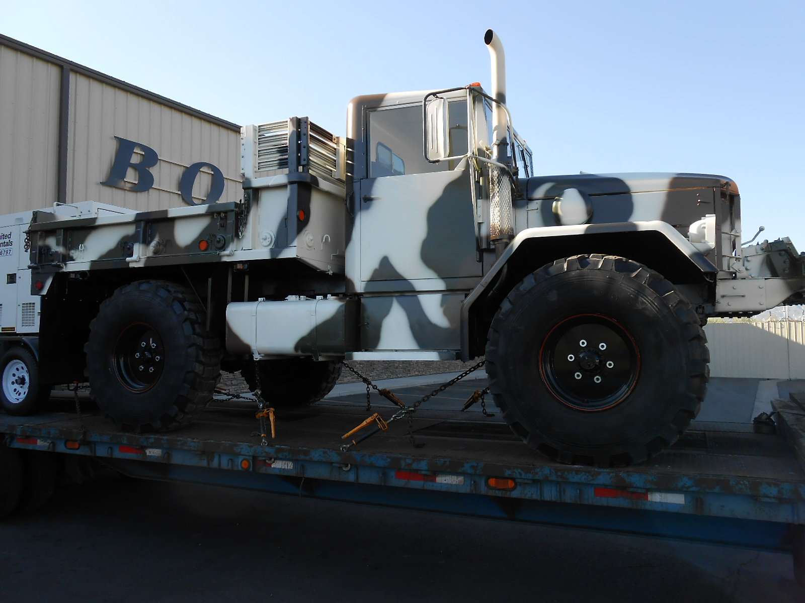 Boyce equipment bobbed 2 5 ton