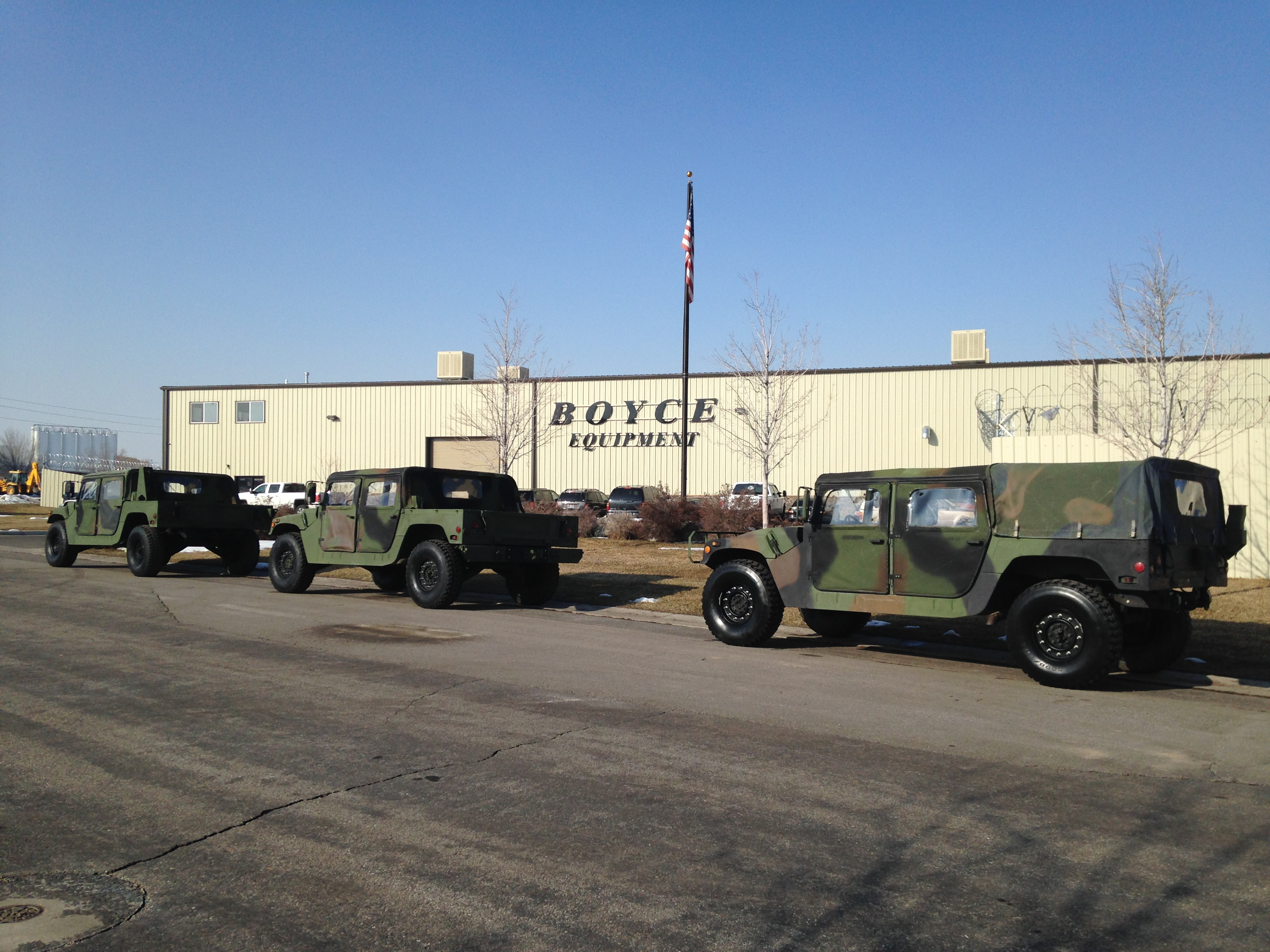 Military vehicles for sale. Military surplus vehicles, army trucks, tanks and parts, including used 4x4 and 6x6 military trucks, deuce and a half, military wreckers and crane trucks.