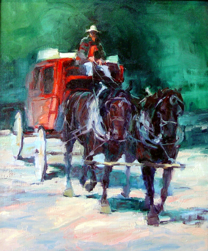 """The Red Coach"""