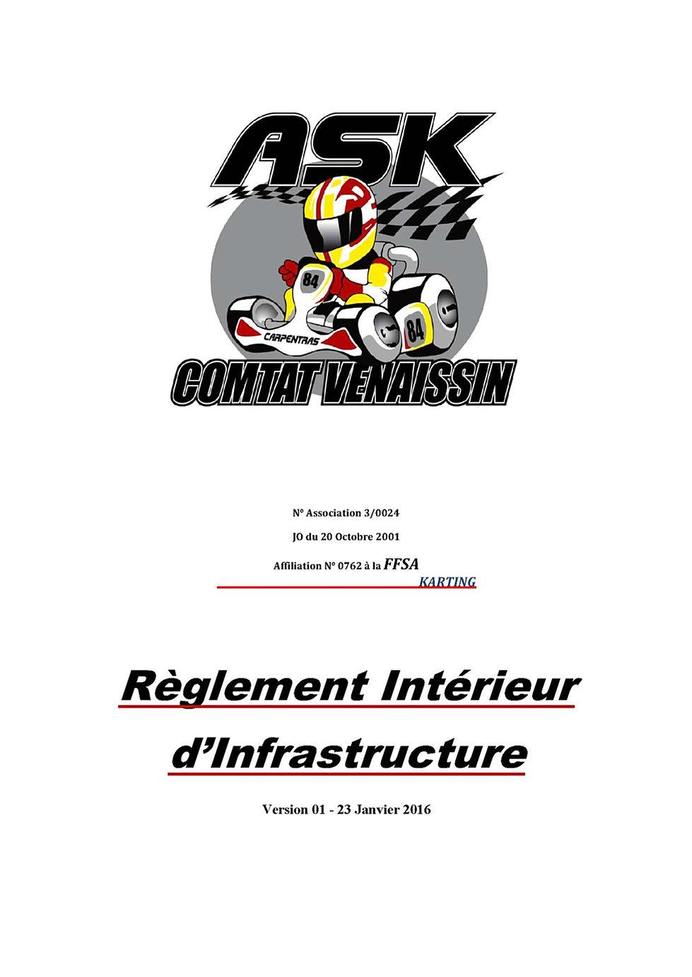 Karting carpentras r glement int rieur for Karting interieur