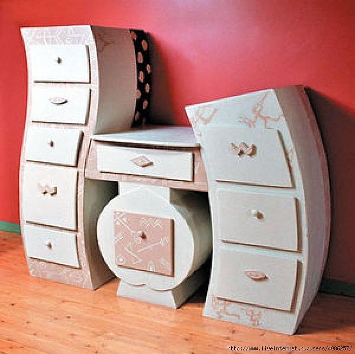 Мебель для барби с картона своими руками