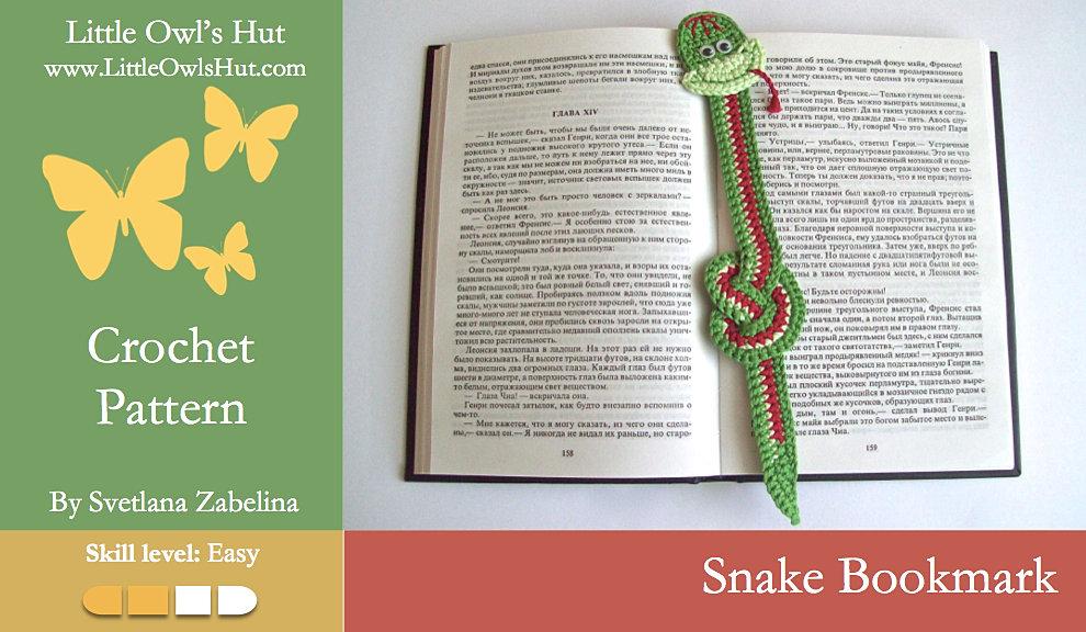LittleOwlsHut Amigurumi patterns crochet and knitting | Zabelina Snake ...