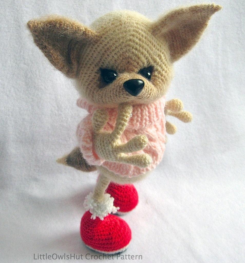 LittleOwlsHut Amigurumi patterns crochet and knitting Fox