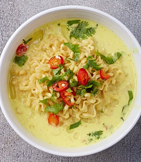 how to make curried ramen