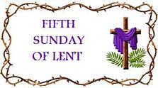 3-22-15  5th Lent