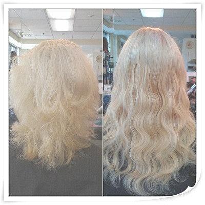 Keratin Bonded Hair Extensions Glasgow 118