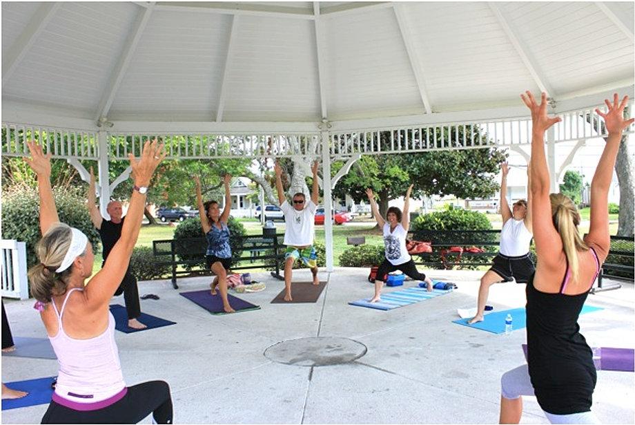 Yogathon - Hope for Haiti - 2011
