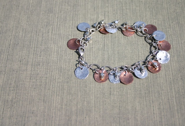 Aluminum and Copper Charm