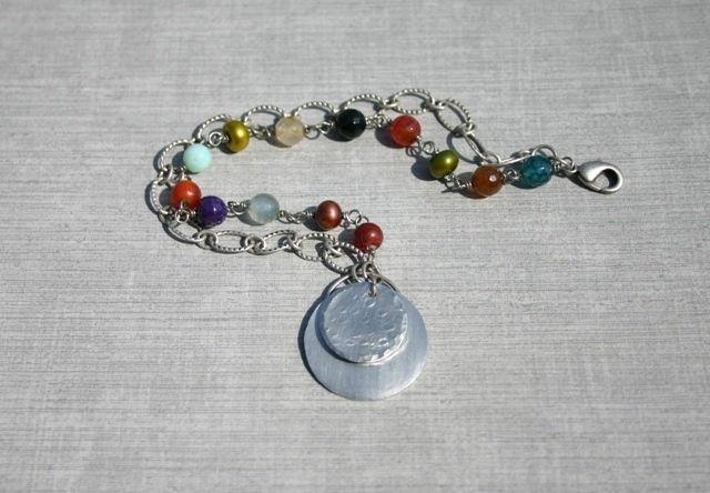 Textured Aluminum Bracelet