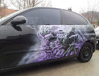 Seat Ibiza Thunder dragon
