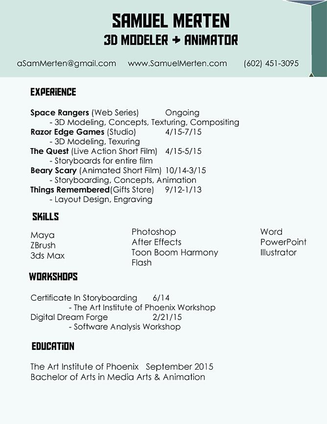 Constructing A Modeling Resume Amanda Schwartz  Modeling Resume