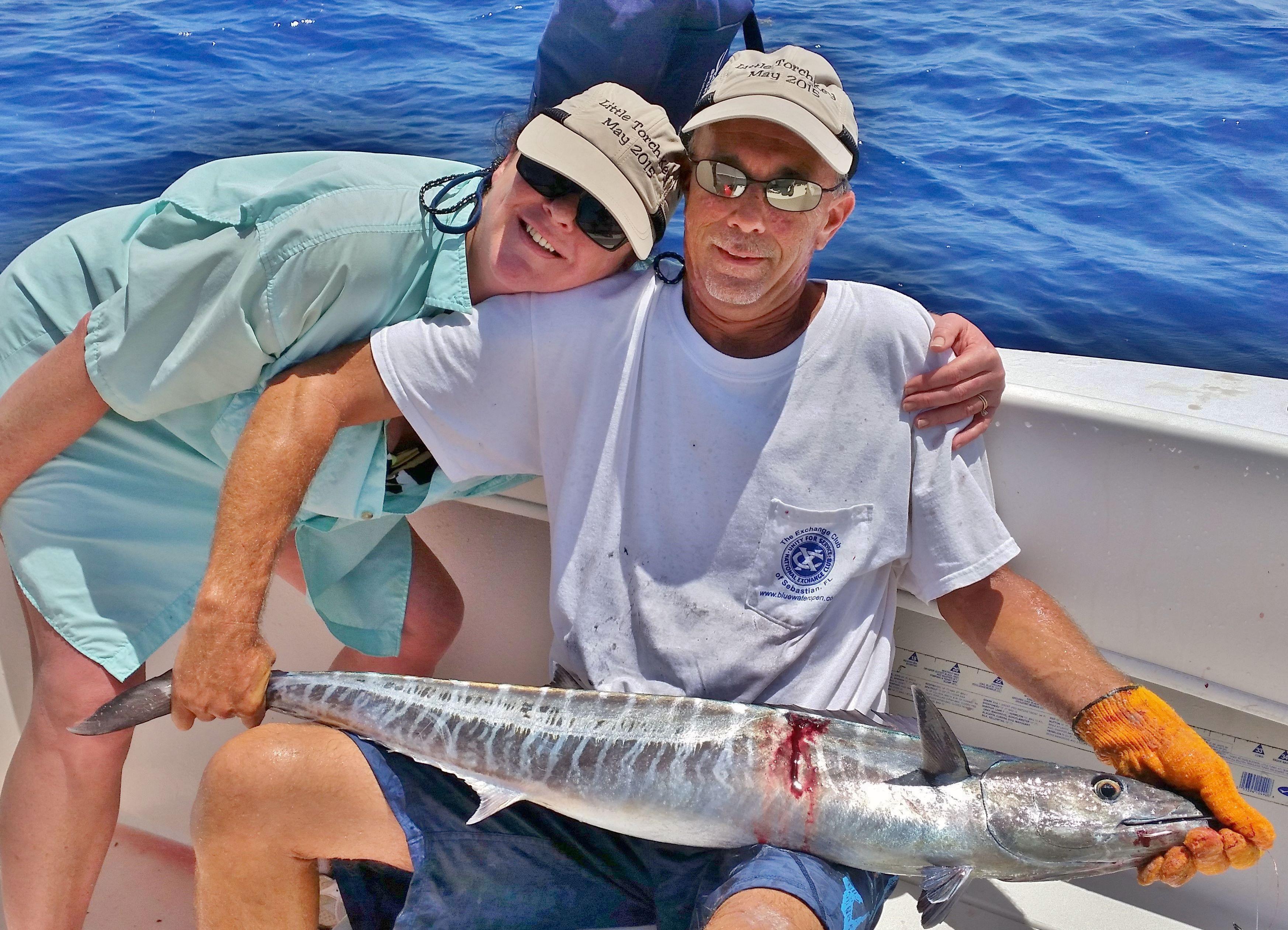 Birthday wahoo sebastian gypsy fishing charters for Sebastian fishing charters
