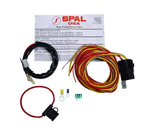 gnsperformance engine cooling 68 72 a body spal dual fan relay kit w o sender 130203