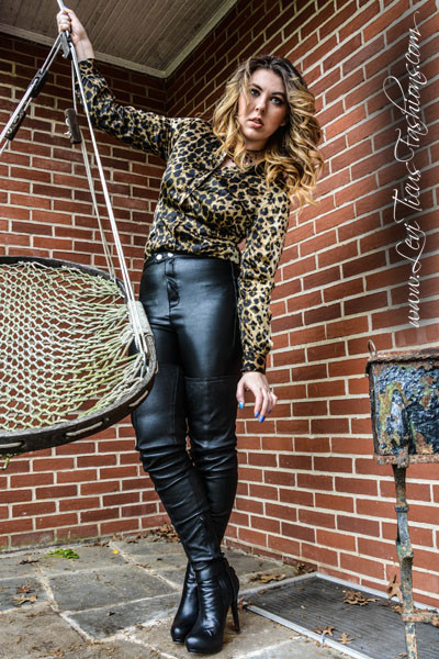 Thigh Highs Amp Button Downs Leviticus Fashions