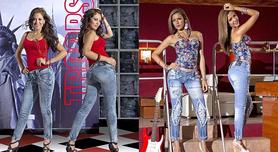 troops sexy women jeans denim style