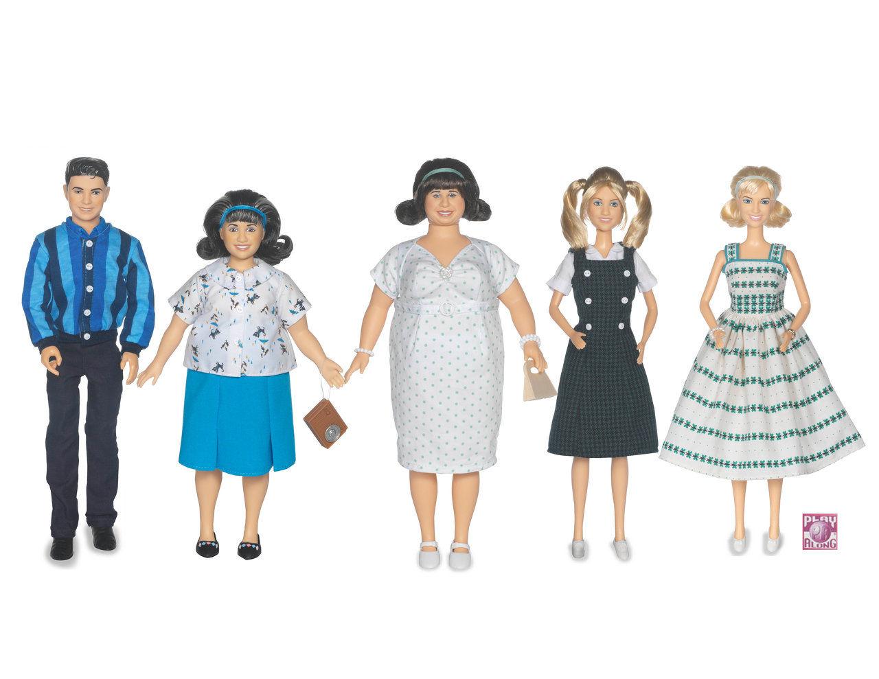 Design fashion dolls toys plush graphics
