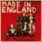 ANTICIAL Made in England EP Red cover limited to 250 copies