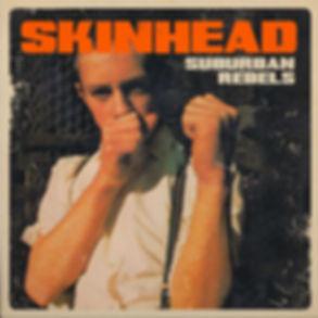 Suburban Rebels Skinhead EP cover artwork based on Richard Allen old books