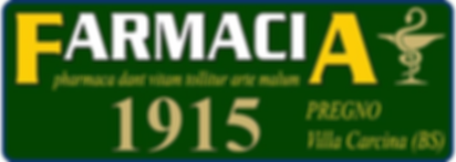 Farmacia Pregno dal 1915