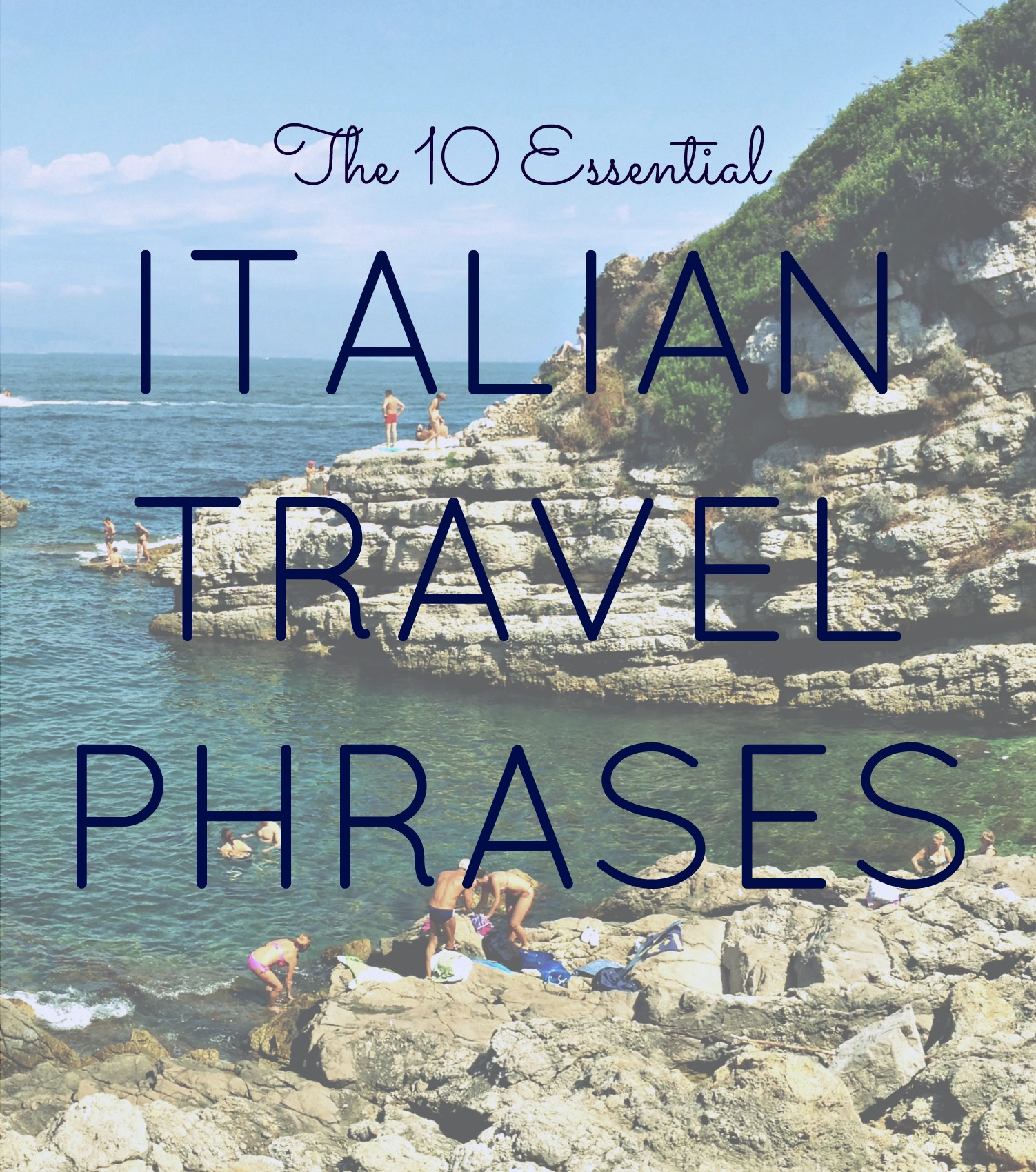 Essential Italian Travel Phrases BlondVoyage - 10 important phrases to learn for your trip to rome