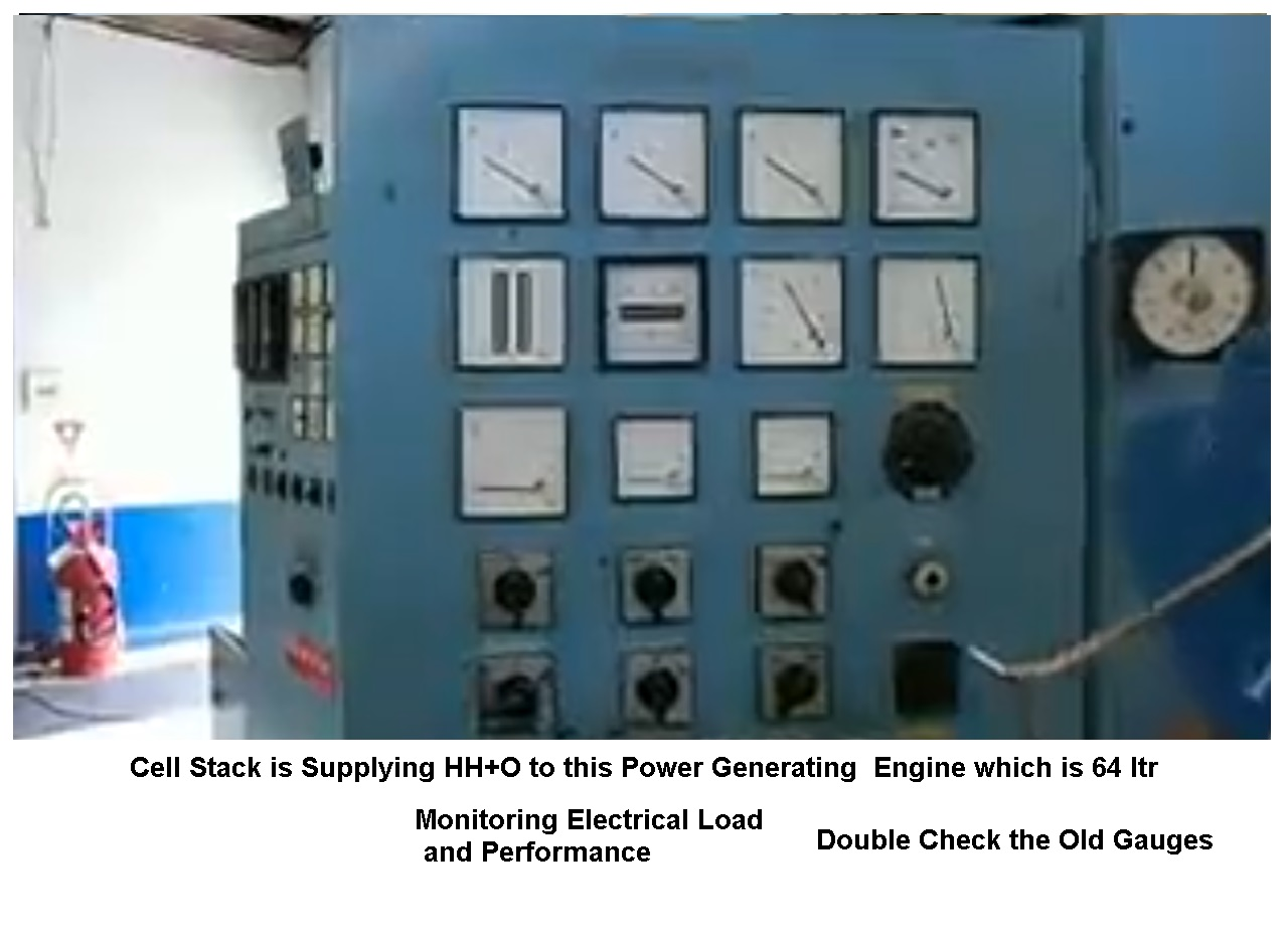 Hydrogen Electric Generator Stanley Meyer Wikipedia Free Encyclopedia Circuit Breaker The Diesel Engine Power Plant 64 Ltrs 1 Electrical Load And Readings Double Checkj