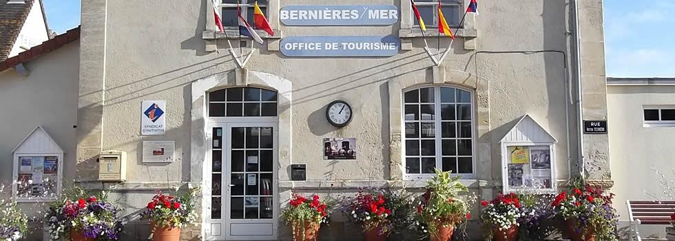 Mairie de berni res sur mer patrimoine - Office de tourisme bernieres sur mer ...