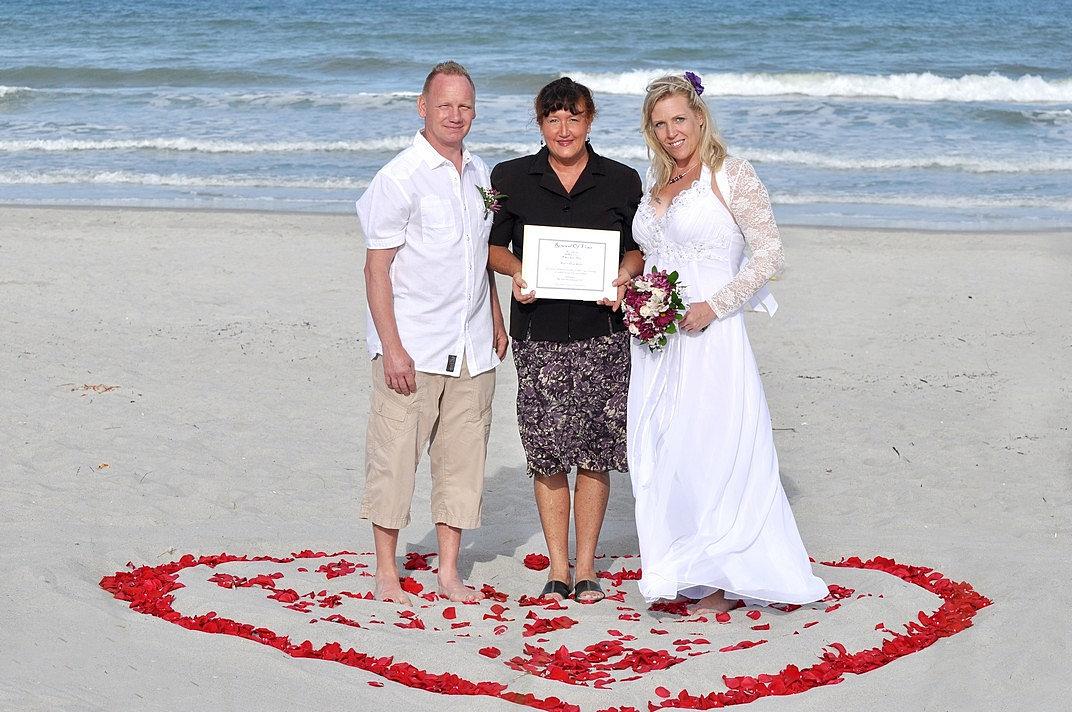 Beach Weddings Near Port Canaveral
