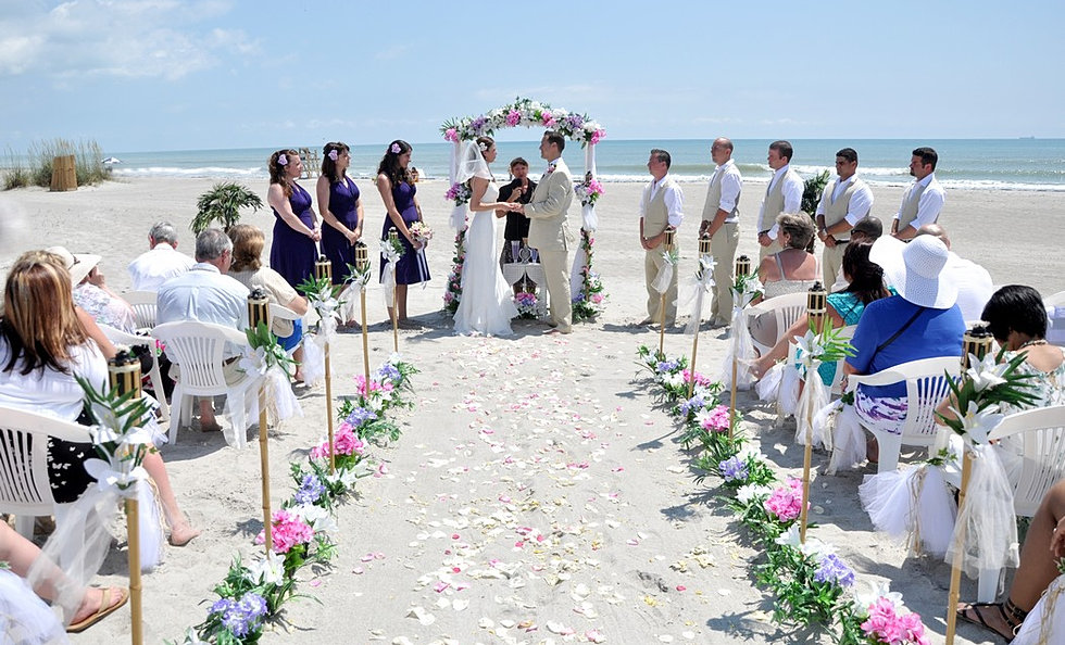 Romantic Florida Beach Weddings