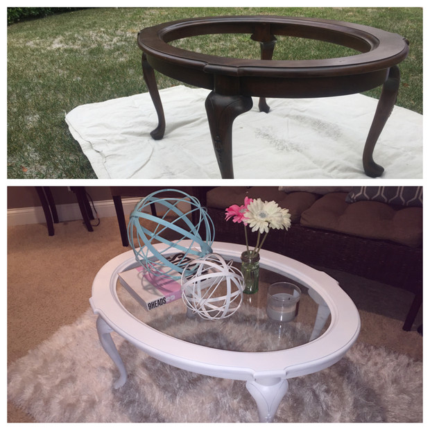 goodwill coffee table revamp | love, ness
