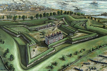 1841 : U.S. Congress Appropriates Money to Build Fort Wayne
