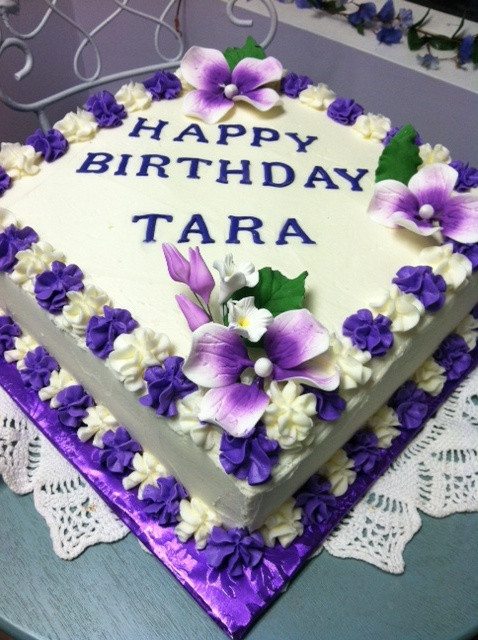 Happy Birthday Tara Cake