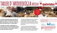 taller arqueologia infantil