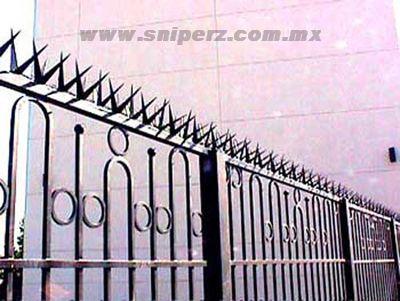 17 rhino spikes seguridad perimetral picos para bardas - Rejas de seguridad ...