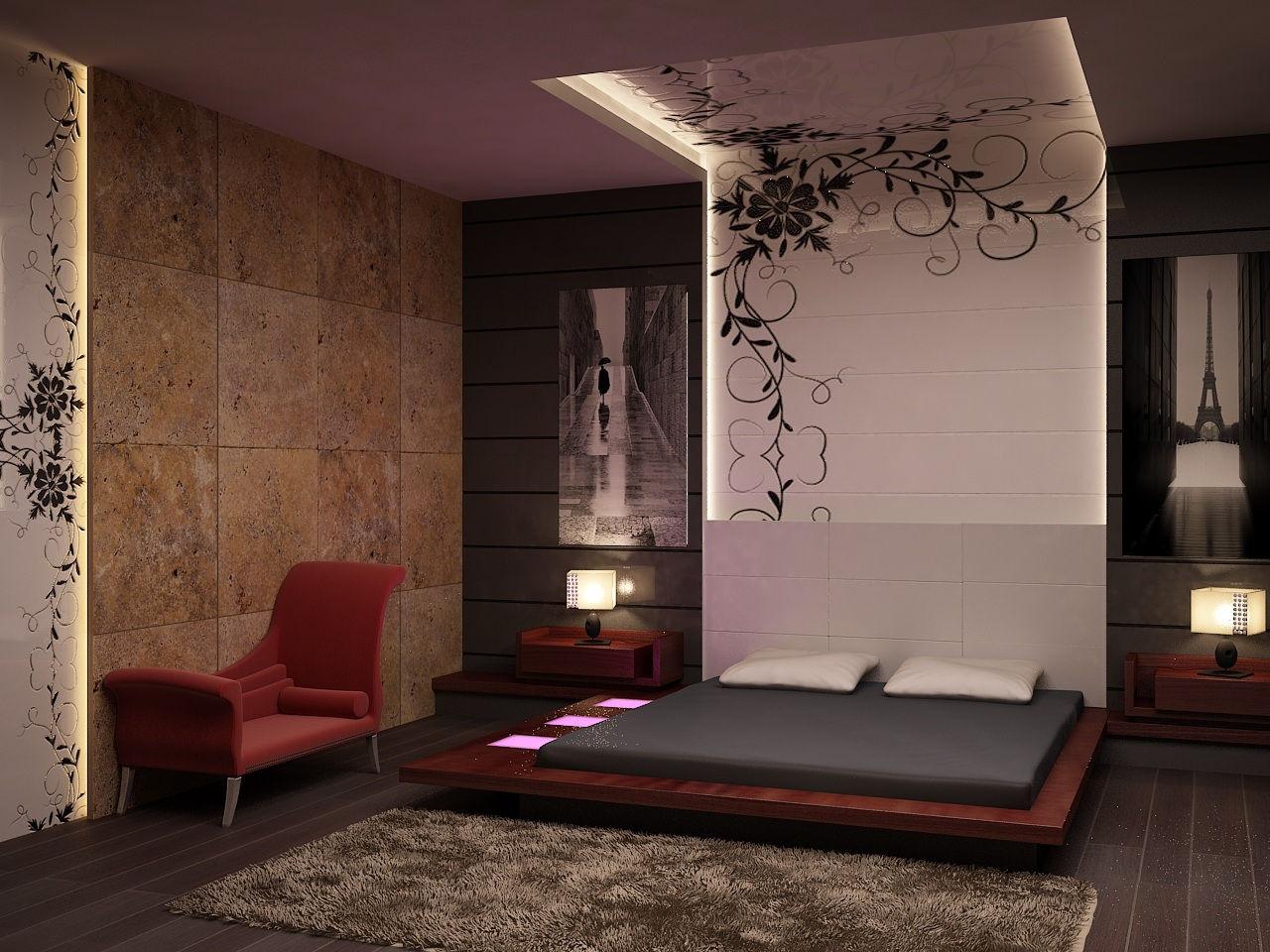Serkan yazici 3d 39 ream 39 design for Zen type bedroom ideas