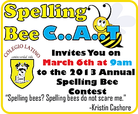Lab designs 2d graphic design for Spelling bee invitation template