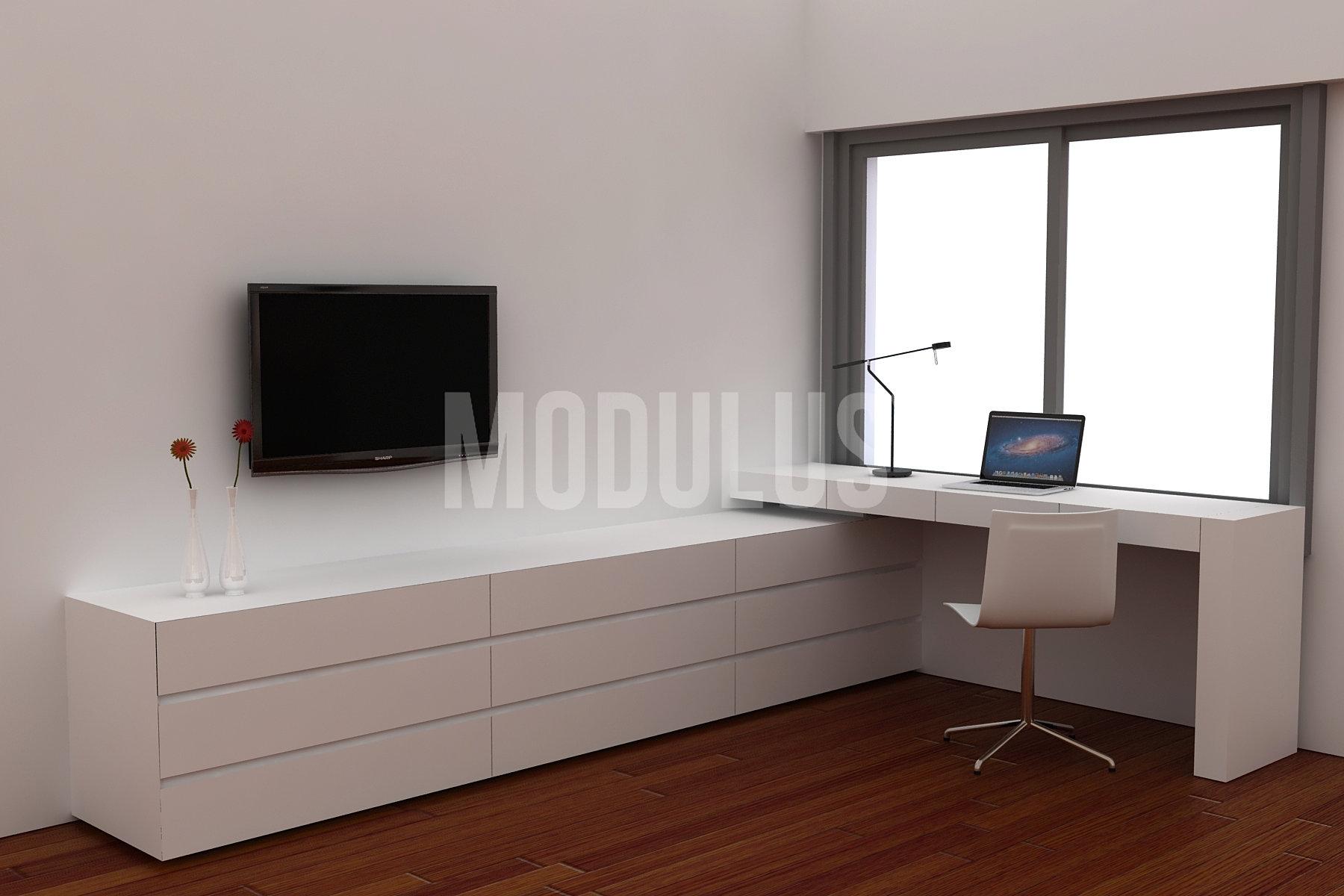 Modulus muebles de diseño  ESCRITORIO / COMODA