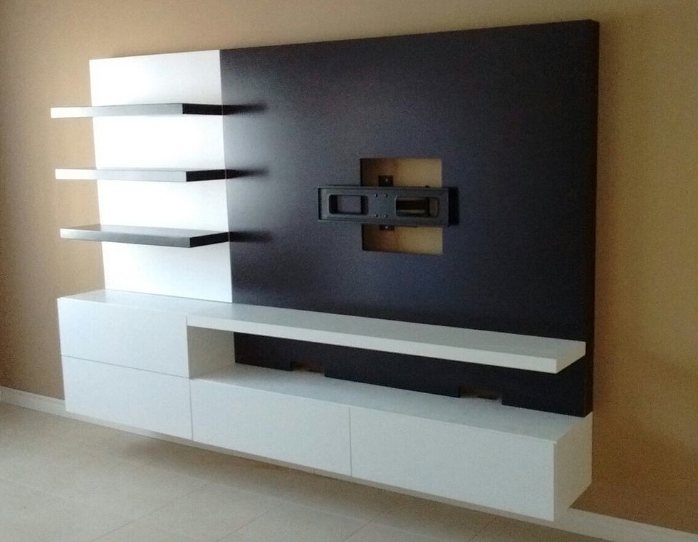 Mueble Para Televisor. Perfect Armario Tv Maderkit Wengue With ...