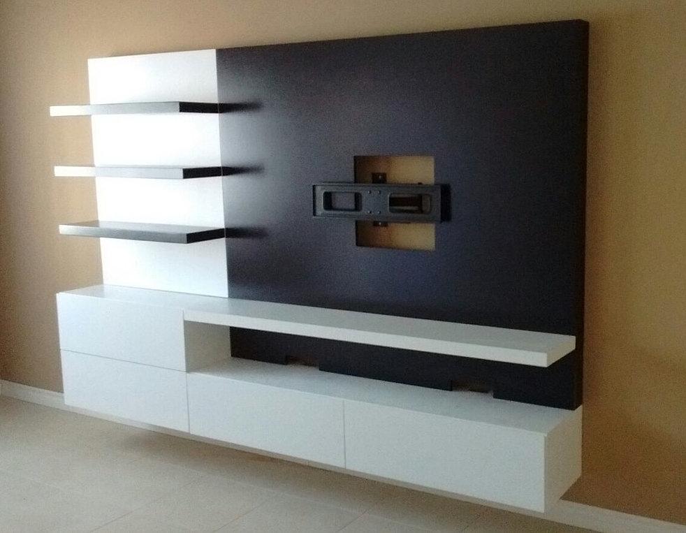 Modulus muebles de dise o contemporaneo nuestros trabajos for Modelos de muebles para tv