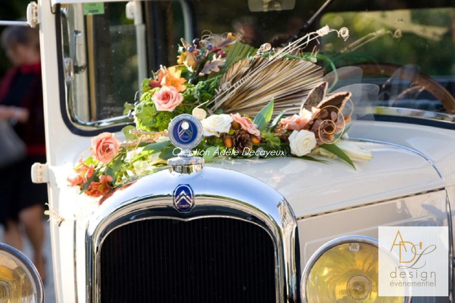 Extrêmement adeledecayeux adldesign création de décoration originale mariage  QD68