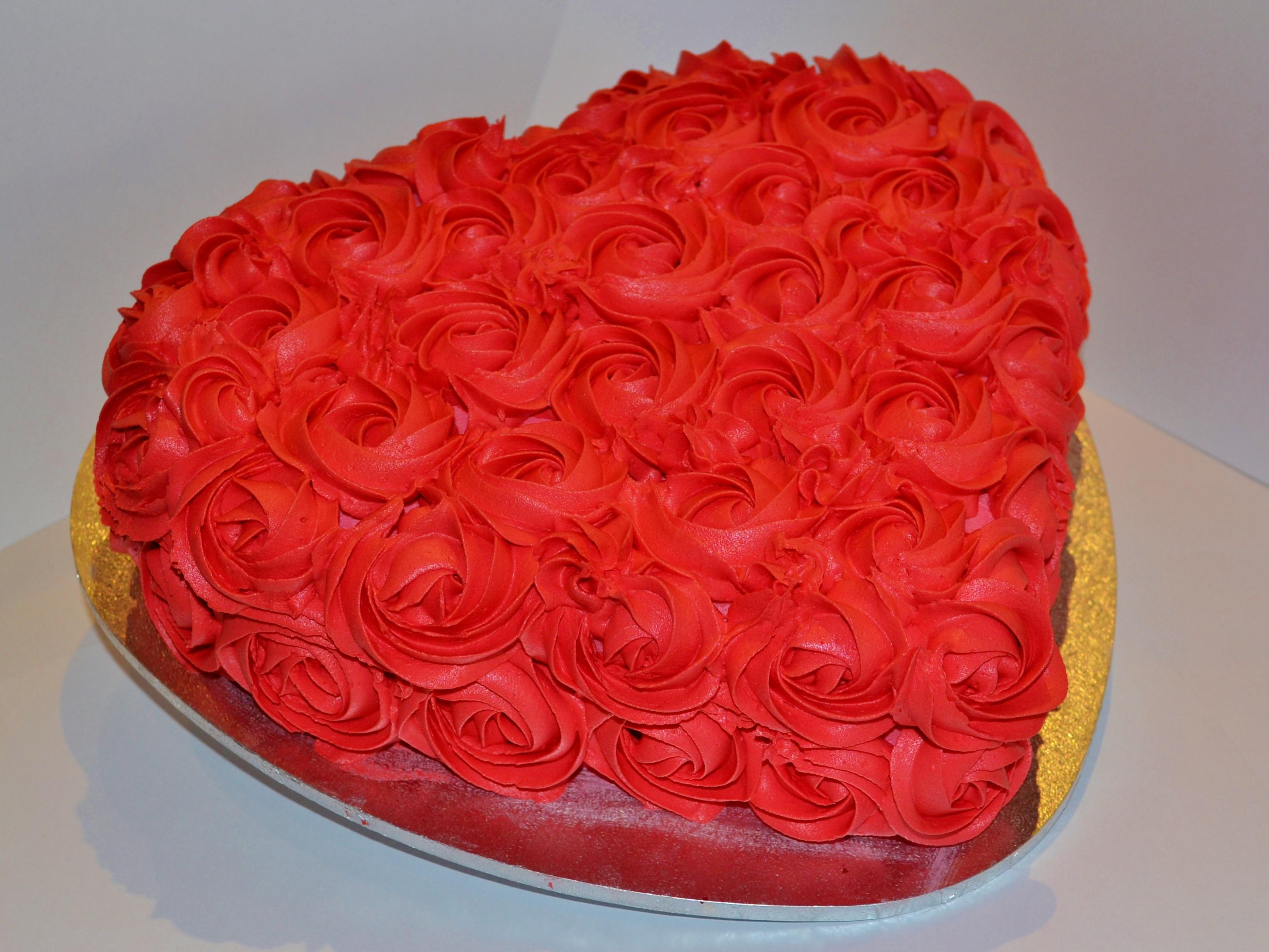 Как сделать пирог в виде сердца 4