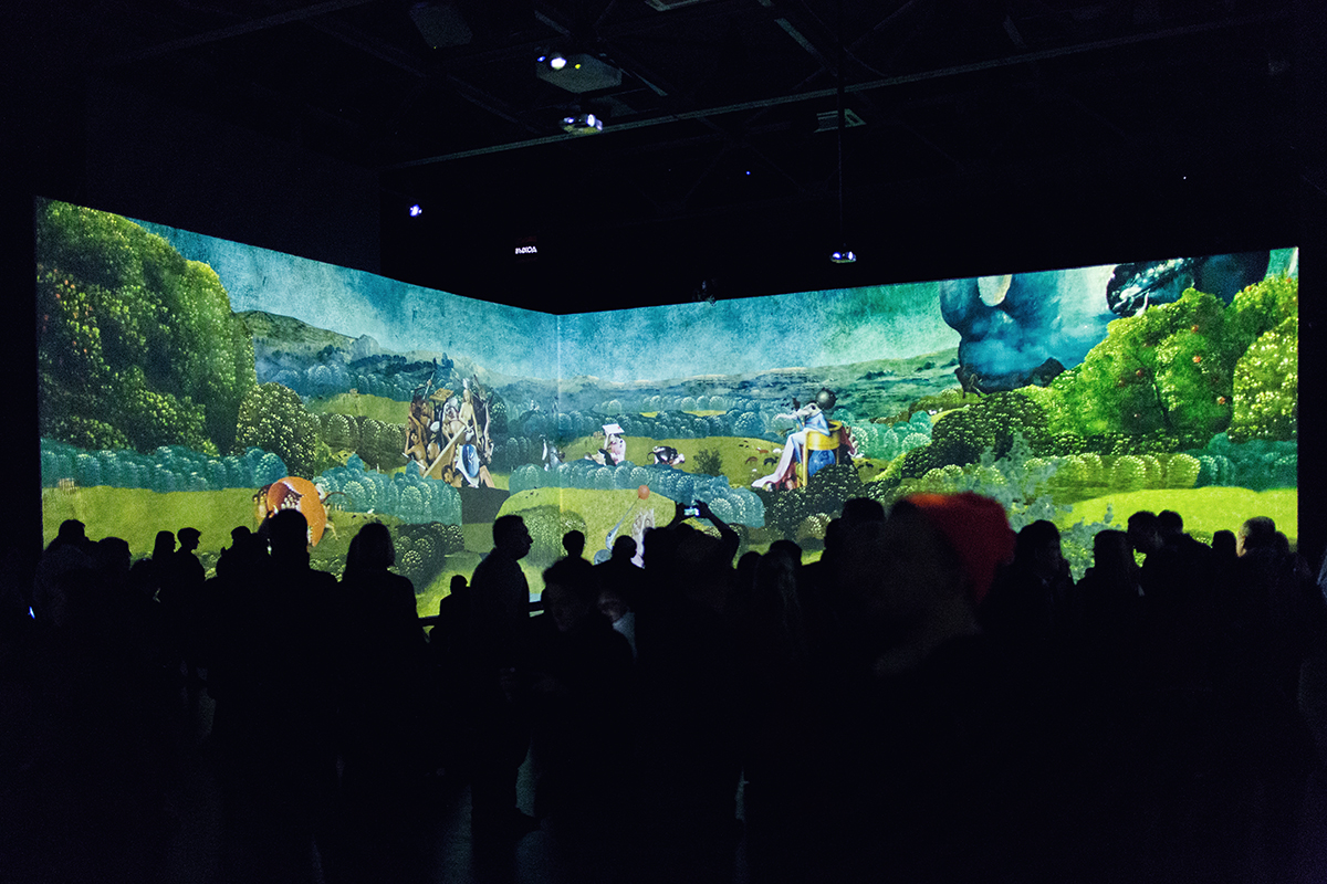 Hieronymus Bosch Visions Alive Berlin Artplay Media Multimedia